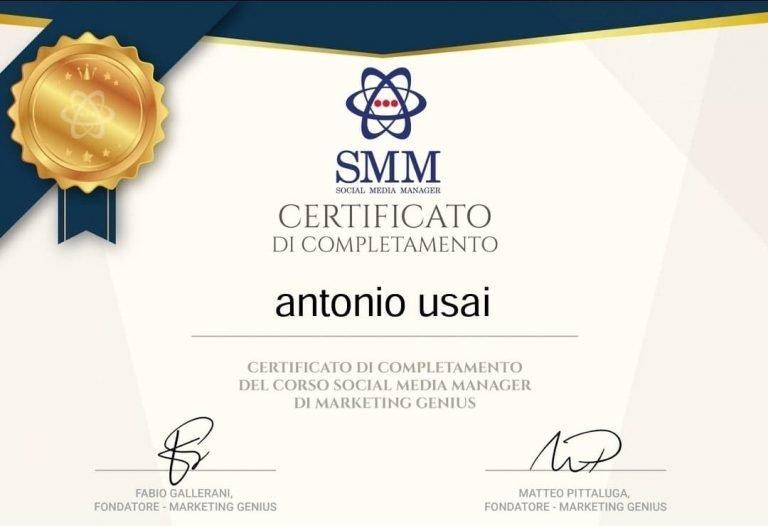 Antonio Usai - Sardinia Brand Management (Social Media Manager)