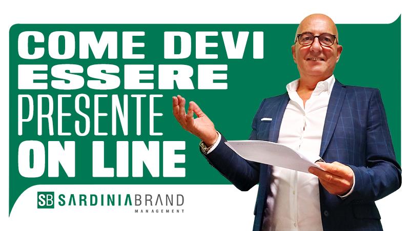 Come deve essere presente on line un'azienda della Sardegna