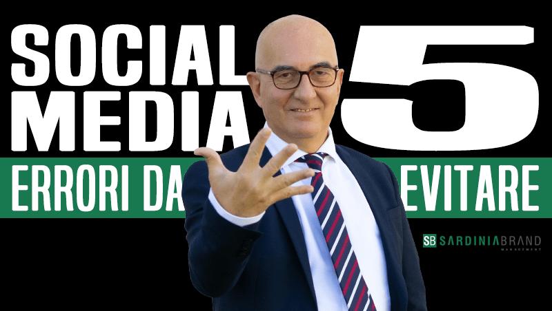 Vuoi far crescere la tua azienda sui social media? Non fare questi 5 errori